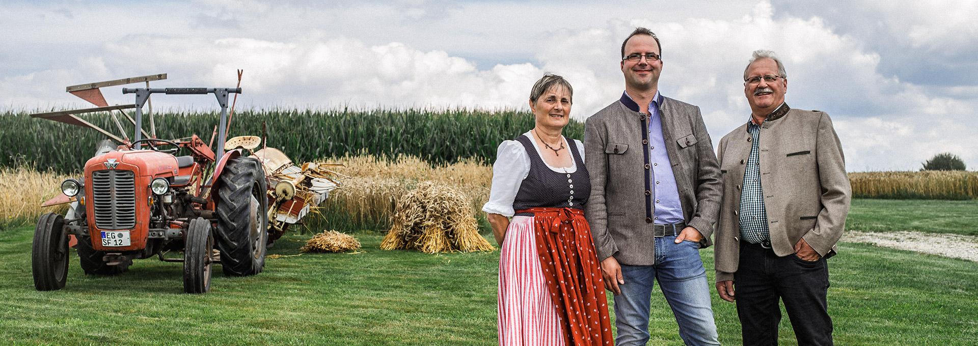 Hofbauernhof-Schemmer-Familie
