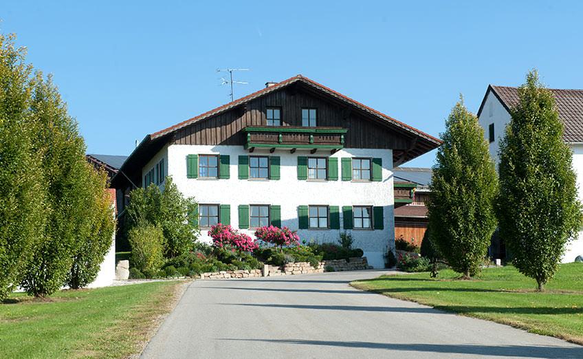 Schemmer Hofbauernhof Haus vorne